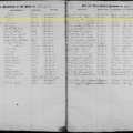1872 birth record of Nellie Spellman, Bradford, Vermont