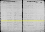 1866 marriage record of Martin Spellman and Josephine Roux, Bradford, Vermont